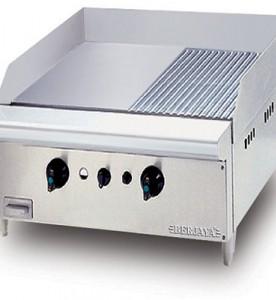 Bếp nướng sần phẳng dùng gas GG2B12R